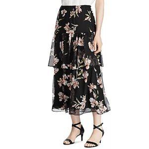 LAUREN Ralph Lauren Tiered Layered Skirt size S